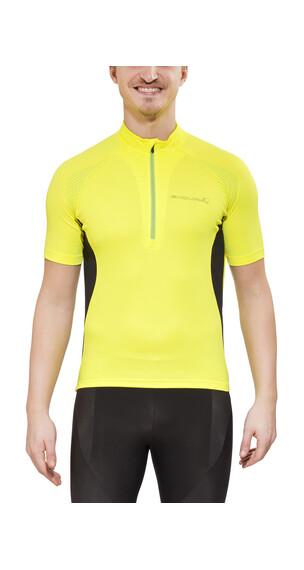 Endura Xtract II Kortärmad cykeltröja Herr gul